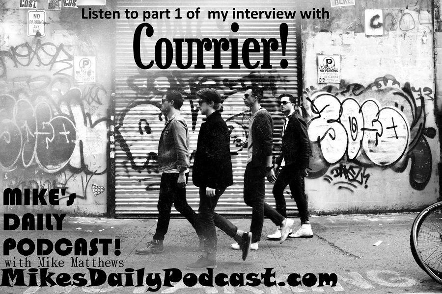 MIKEs DAILY PODCAST 9-24-14 Courrier Music Taylor Cole Bartholomew