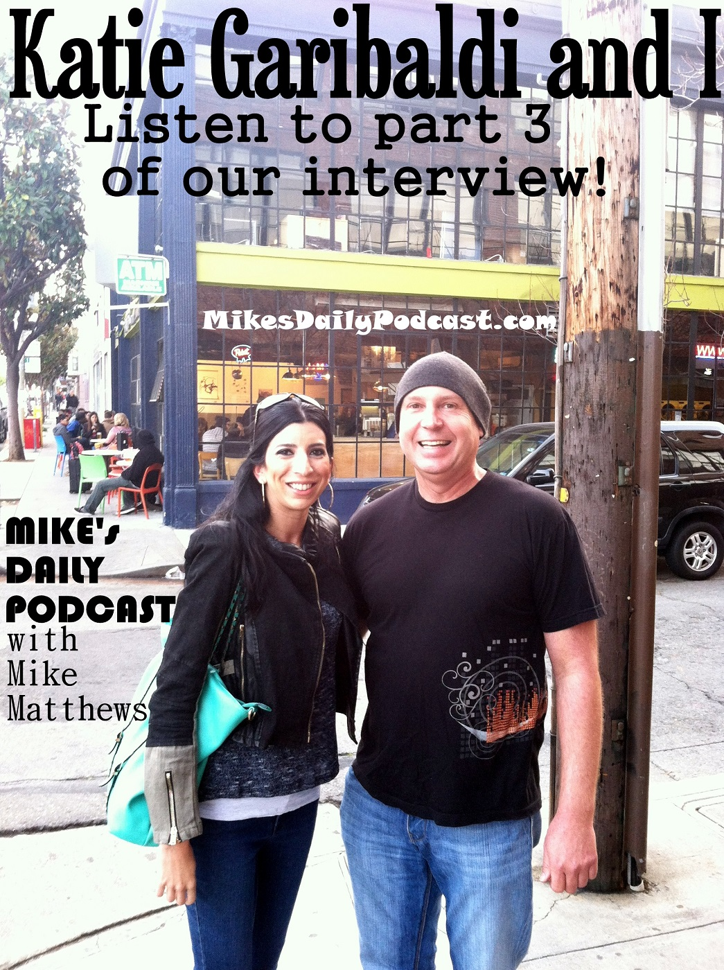 MIKEs DAILY PODCAST 4-2-15 Katie Garibaldi Brain Wash Cafe