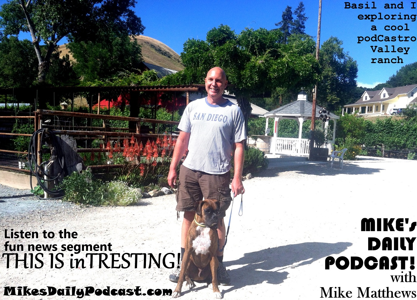 MIKEs DAILY PODCAST 8-31-15 Castro Valley Winery Twinning