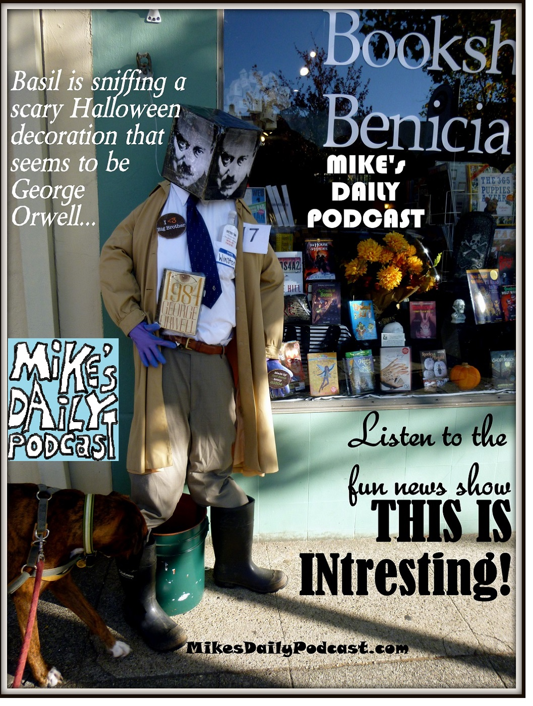 MIKEs DAILY PODCAST 954 Benicia Halloween