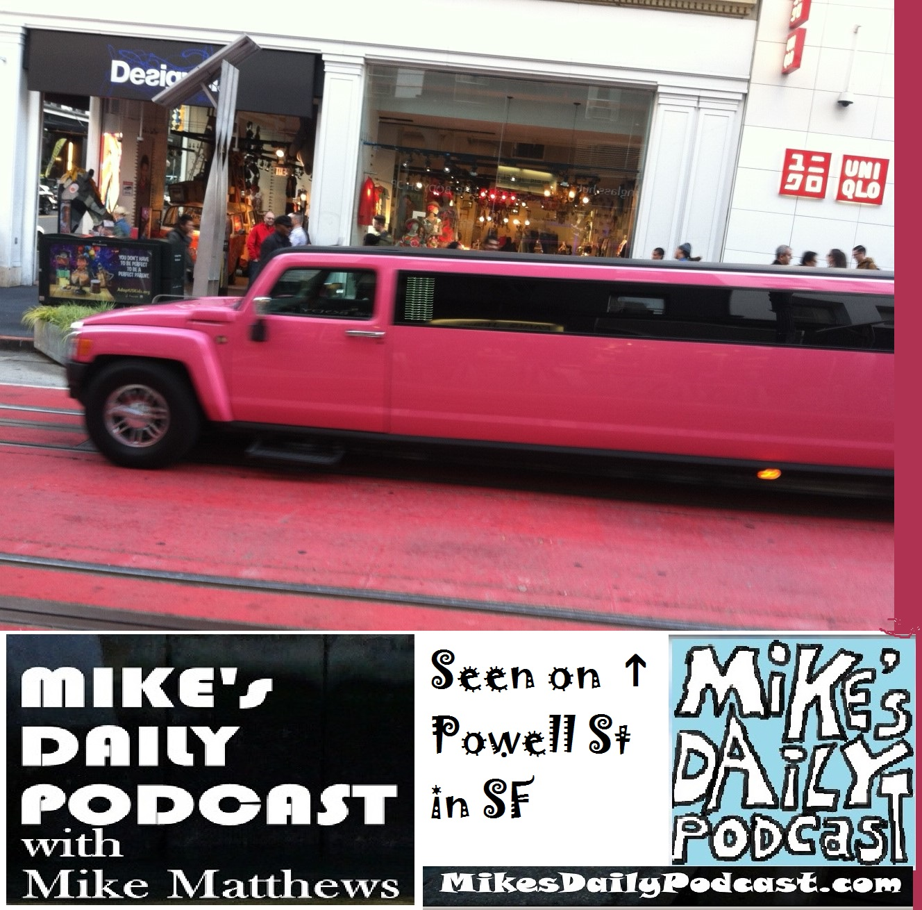 MIKEs DAILY PODCAST 1098 pink hummer limo