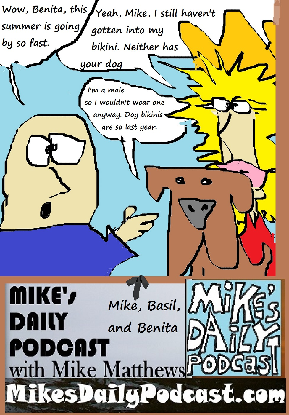 MIKEs DAILY PODCAST 1127 Benita Basil and Mike