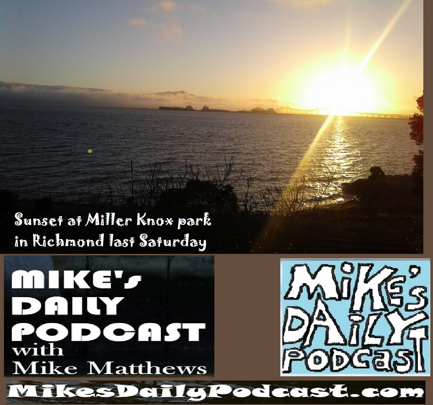 MIKEs DAILY PODCAST 1137 Miller Knox Richmond sunset