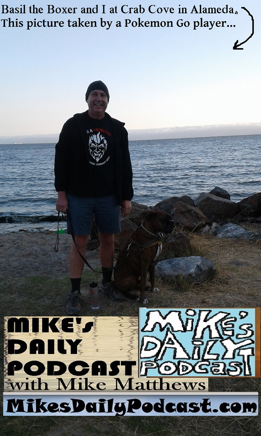 MIKEs DAILY PODCAST 1162 Crab Cove Alameda California
