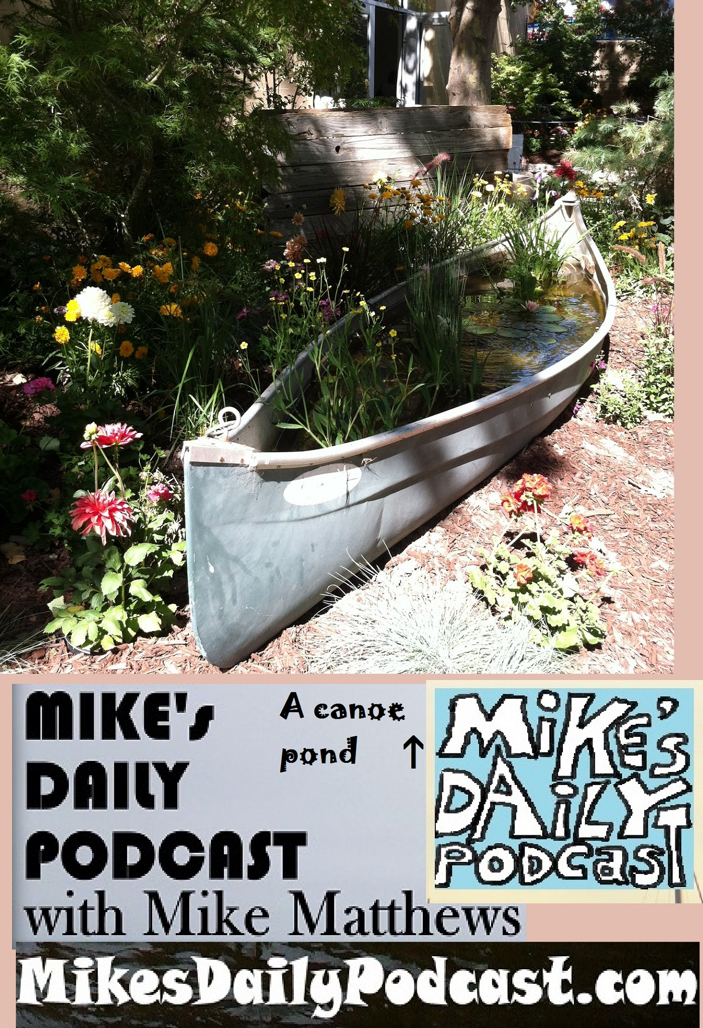 mikes-daily-podcast-1172-canoe-pond