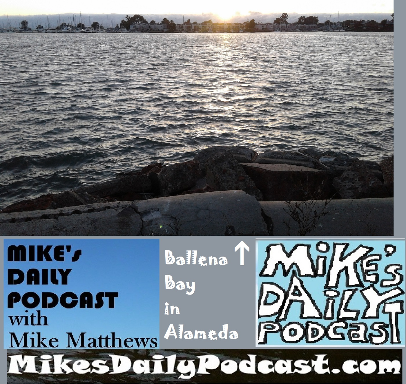 mikes-daily-podcast-1184-ballena-bay-alameda-sunset