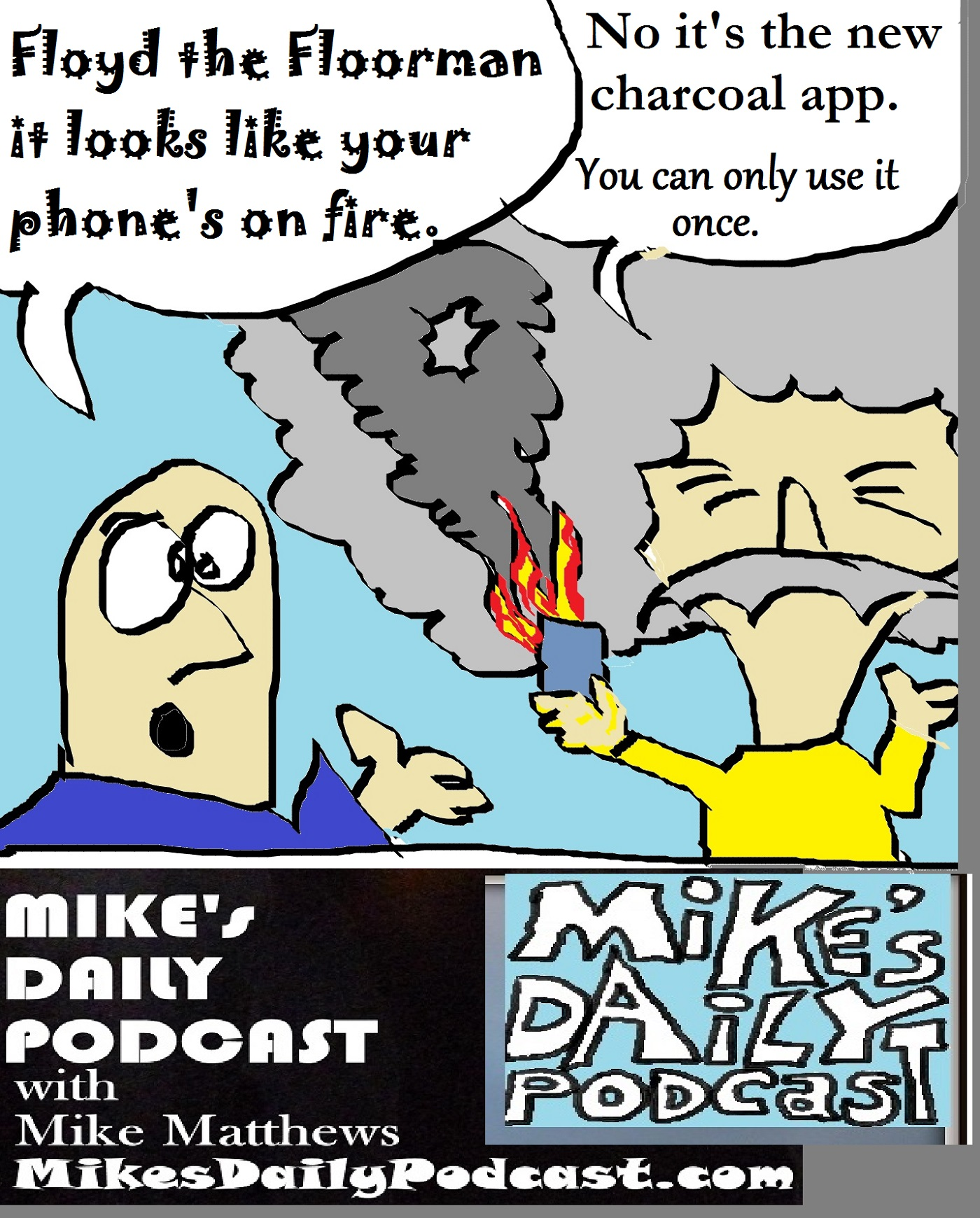 mikes-daily-podcast-1196-floyd-the-floorman-fire-phone