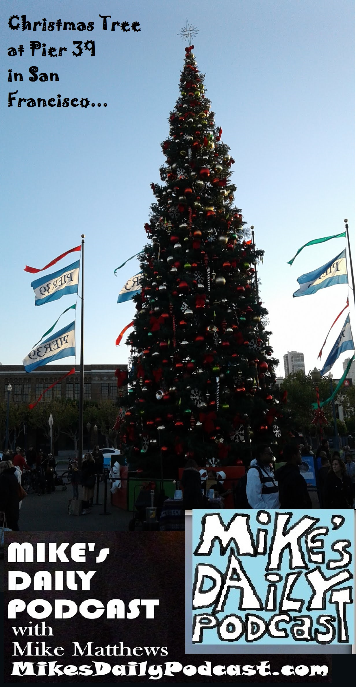 mikes-daily-podcast-1230-pier-39-christmas-tree
